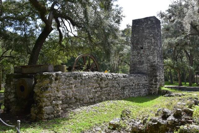Ruins of the Yulee Sugar Mill near Homosassa Florida