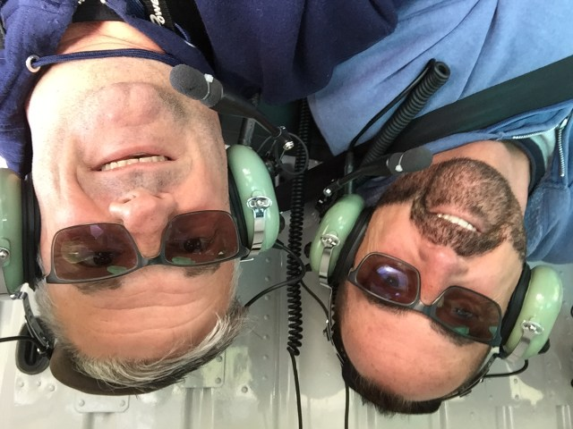 Mark and Chuck's adventure in a helicopter outside of Skagway Alaska