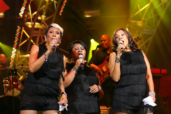 the Pointer Sister performing at an EPCOT concert at Walt Disney World