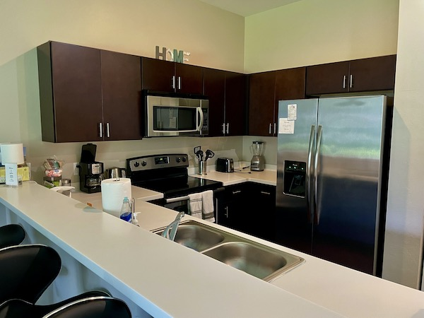 Kitchen of Ft Myers Airbnb