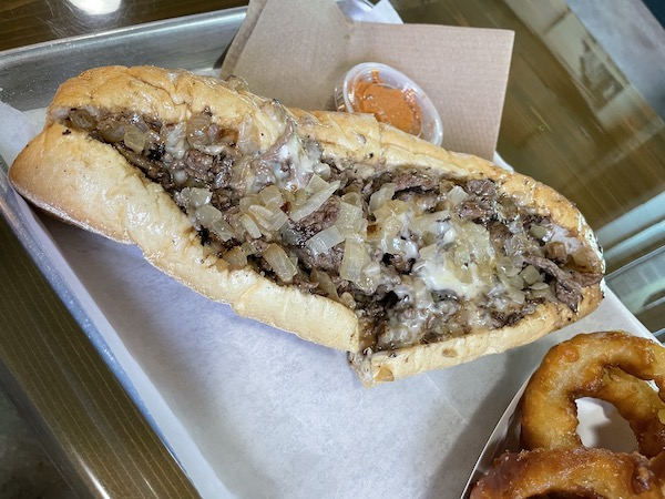 Cheesesteak from Philly Joe's Cheesesteaks in Clearwater Florida our BEST Cheesesteak in Tampa Bay