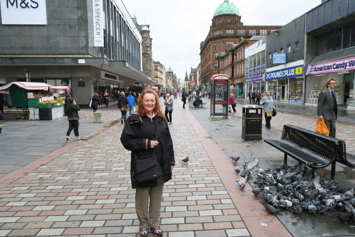 Janet on Argyle Street