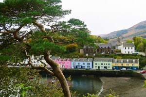 Portree on The Isle of Skye