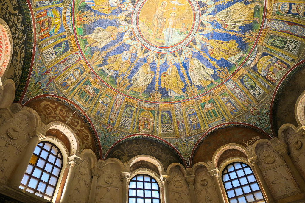 The Orthodox Baptistry or Neonian built 452 AD
