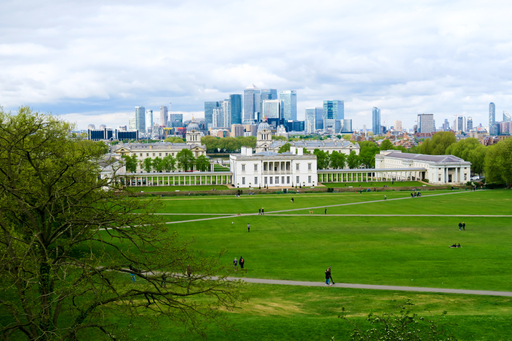 Greenwich and the London Skyline