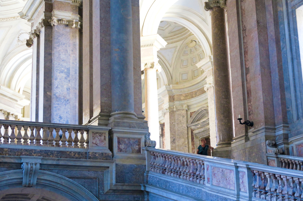 The Grand Staircase at Caserta