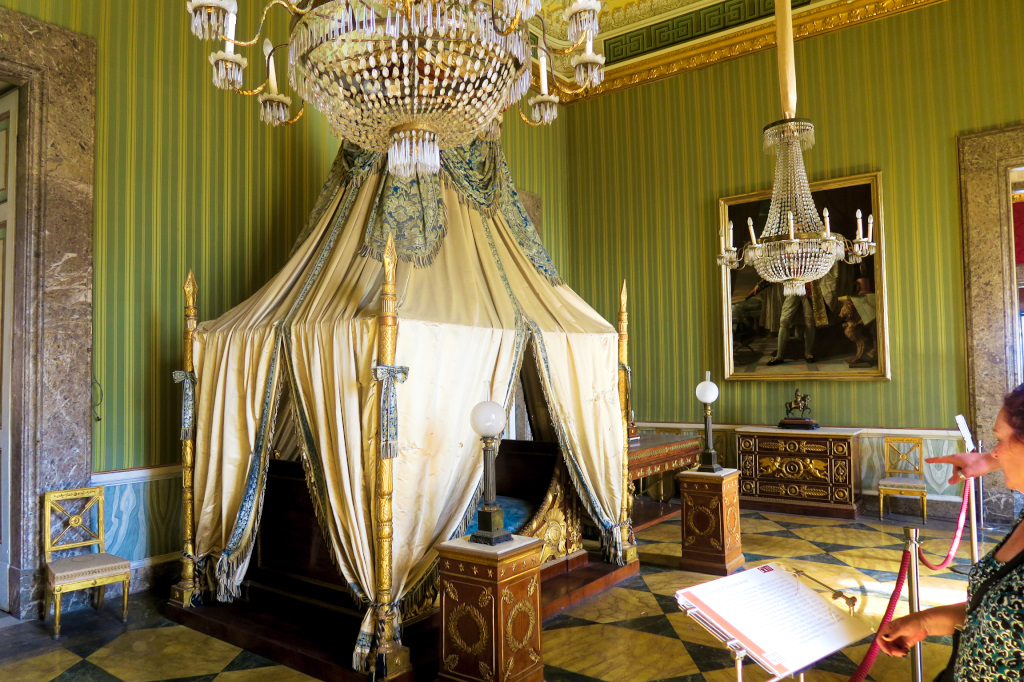 One of 1200 rooms in Caserta