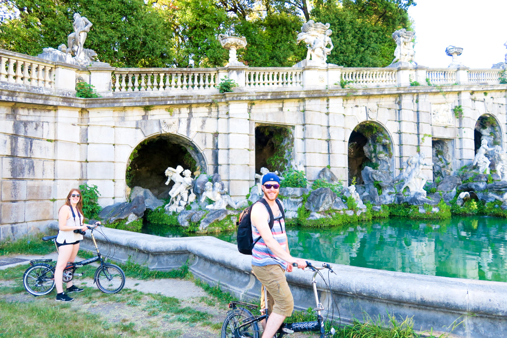 Biking around Caserta