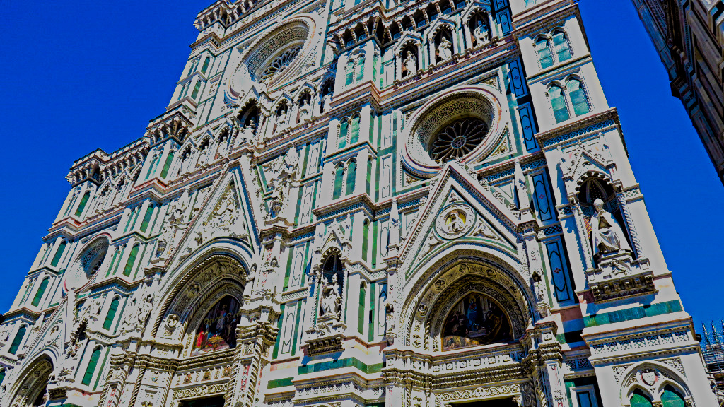 The Cathedral of Florence, Italy
