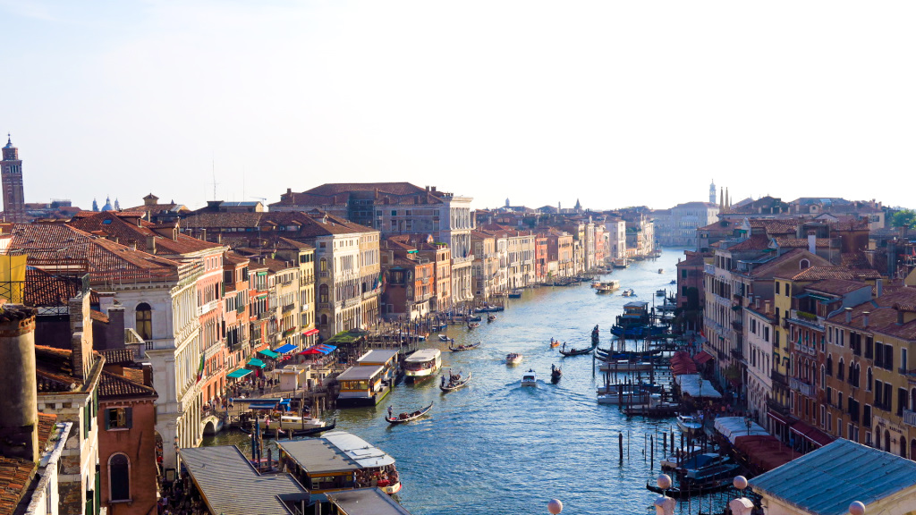 roof top view of Venice