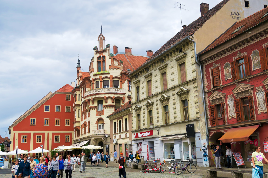 The Main Square in Maribor