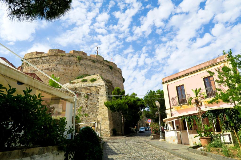 Milazzo Castle, Sicily