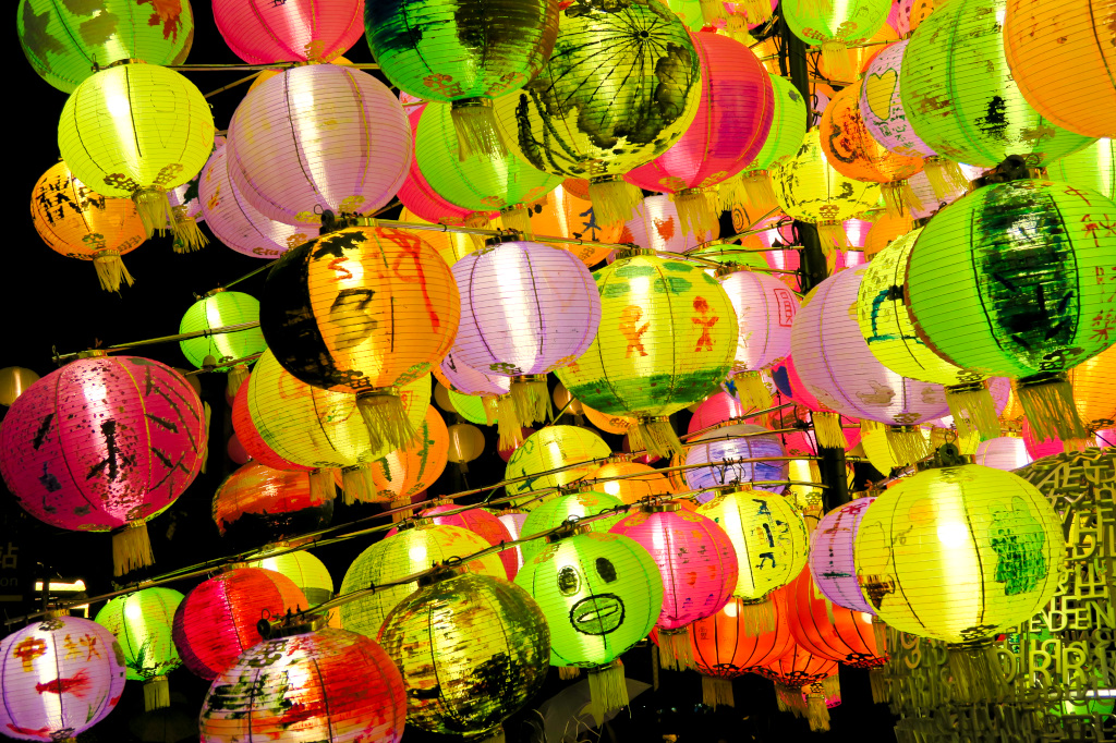 Lanterns at the Festival