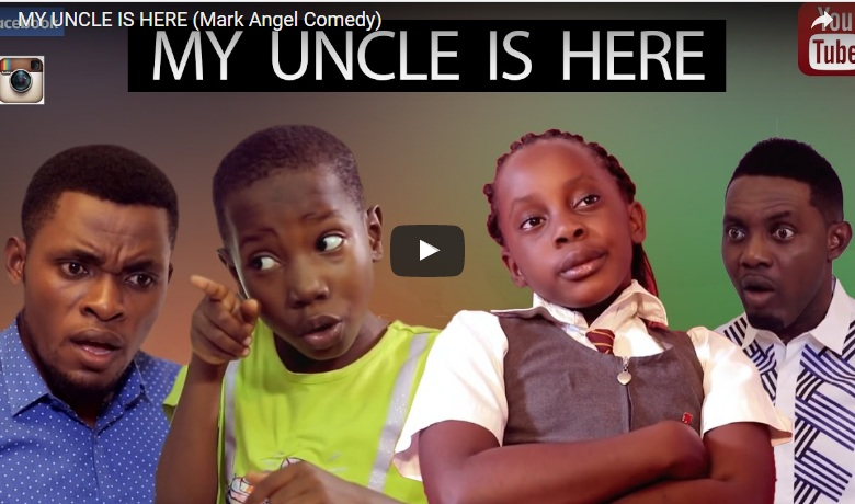 My uncle is here - Mark Angel Comedy