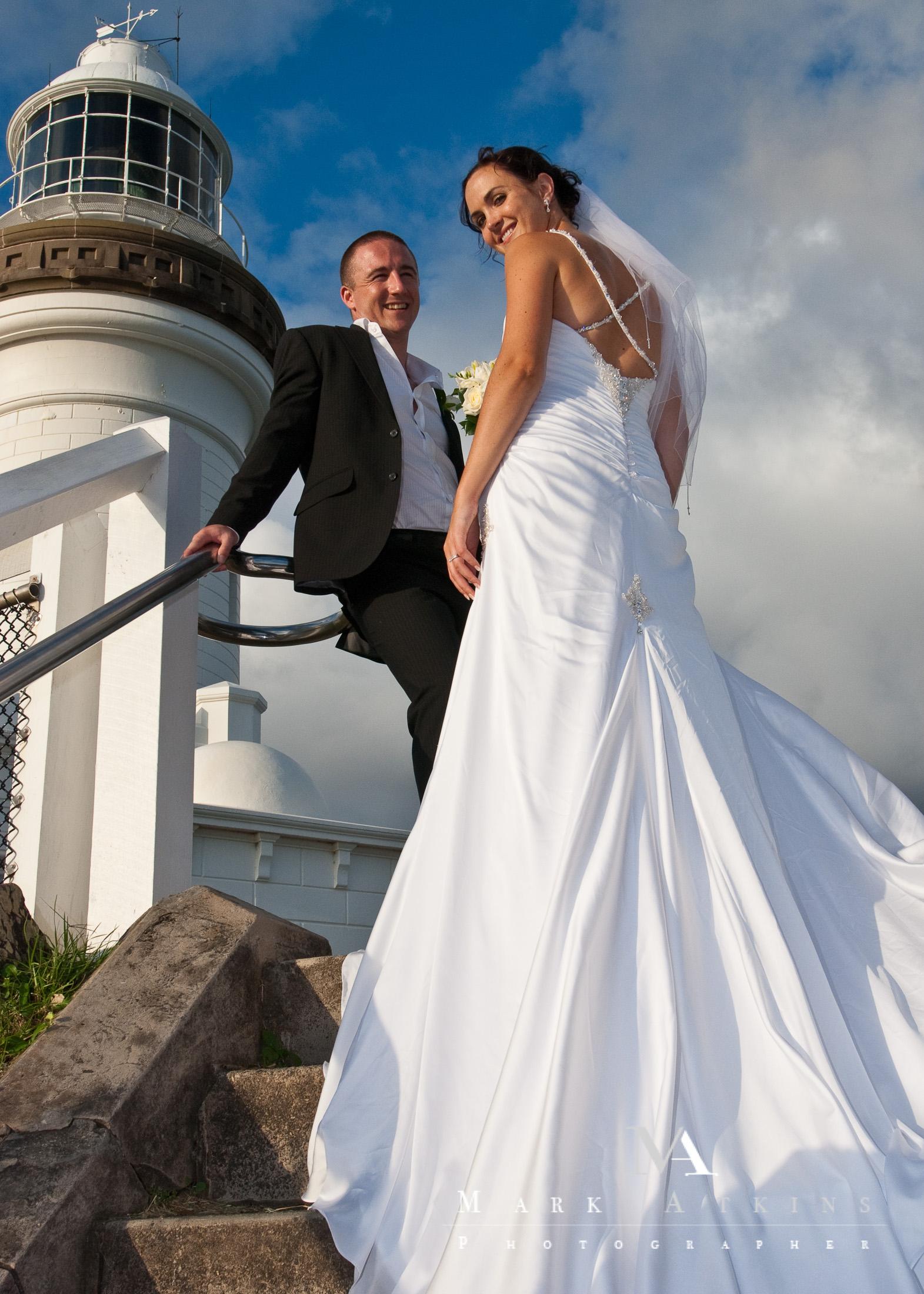 Byron Bay Beach Wedding Photography by Mark Atkins