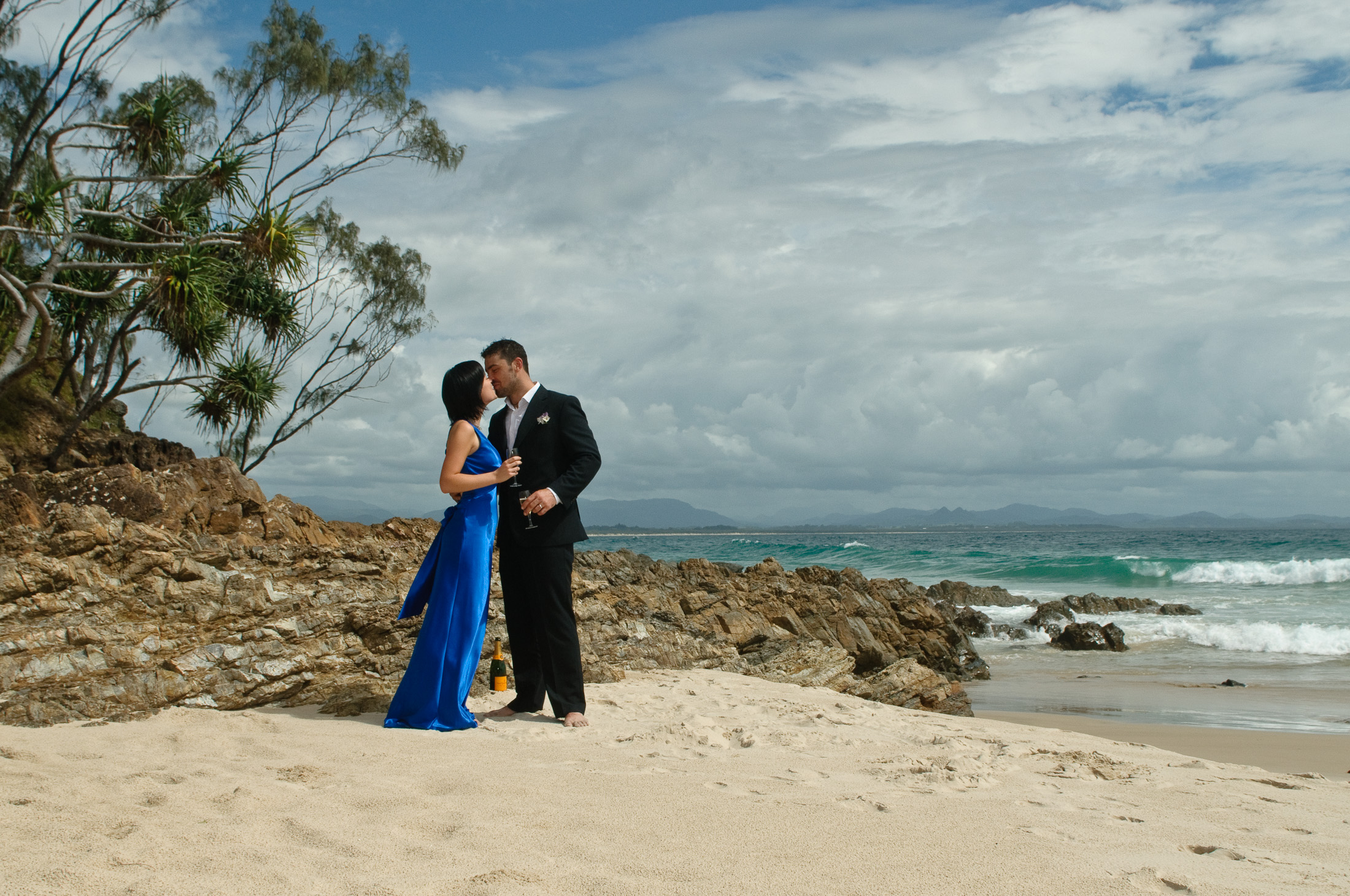 Byron Bay - Lennox Head Wedding Photography by Mark Atkins