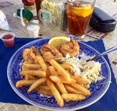 Fried shrimp for me.
