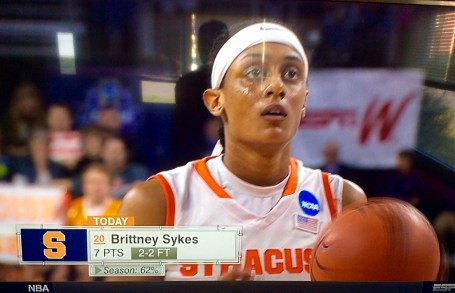 Sykes up for Syracuse.