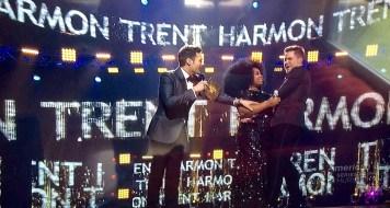 La'Porsha congratulates Trent.