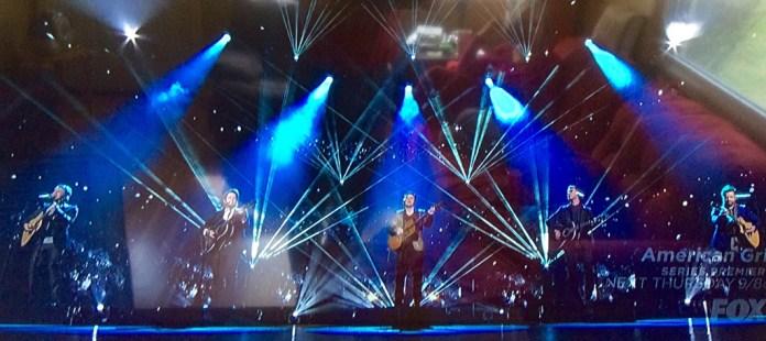 Phillip, Lee, Kris and David sing Bowie.