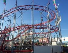 Portable roller coaster.