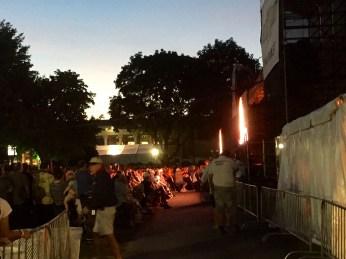 Crowd eats up Brian Wilson's aura.