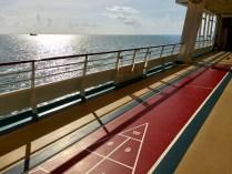 Shuffleboard, deck 14.