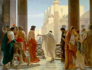 "Ecce Homo - ""Behold the Man..."" Gospel According to St. John 19:5"
