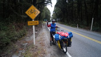 We made it - to the top of Haast Pass, more 1900 feet than the expected 1500, but less formidable than expected.