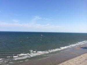 wide view of ocean