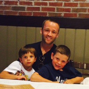 With the nephews