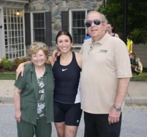 vickie and parents