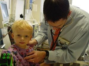 clayton in hospital