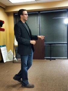 Speaking About Overcoming Fear At Keller Williams