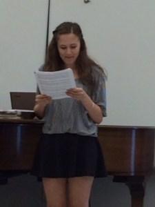 sophie recital 2