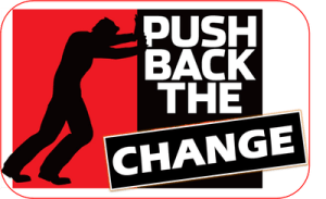 push back the change
