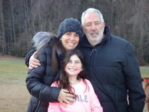 Emily, Rachel and Rachel's Dad