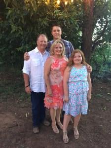 Bill, Teresa & the grandkids