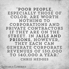 Poor peoples value
