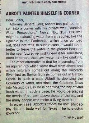 Abbott Stormy water