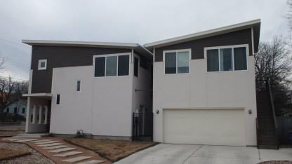 Duplex or possibly faux-condo