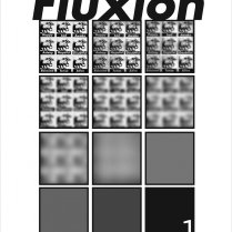Fluxion Art Journal, Issue 1, Cover