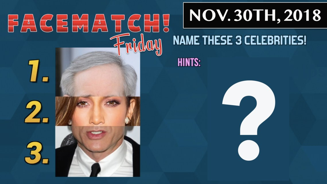 FACE MATCH FRIDAY