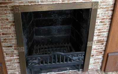 Ronald Reagan boyhood fireplace, hidden pennies