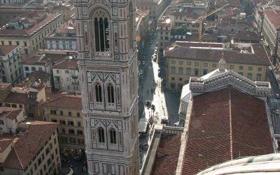 Campanile di Giotto from Duomo, Florence, Italy