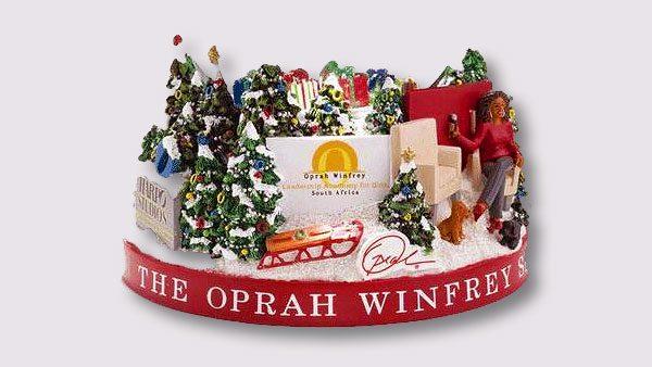 Oprah Winfrey snow globe