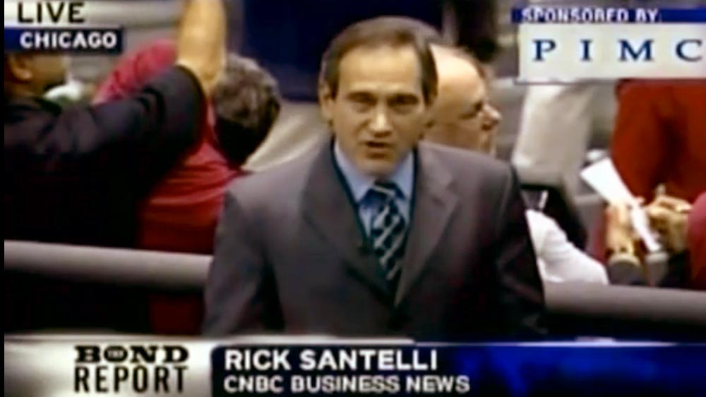Rick Santelli, CNBC in hot water on 'The Daily Show with Jon Stewart'
