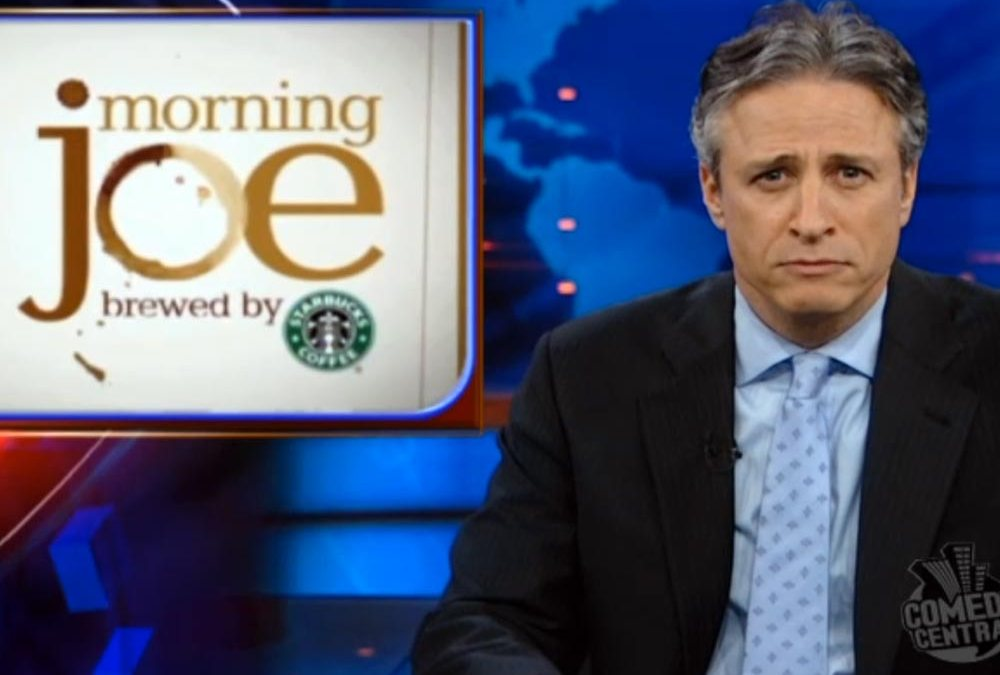'Morning Joe' Scarborough brews up Jon Stewart feud over Starbucks
