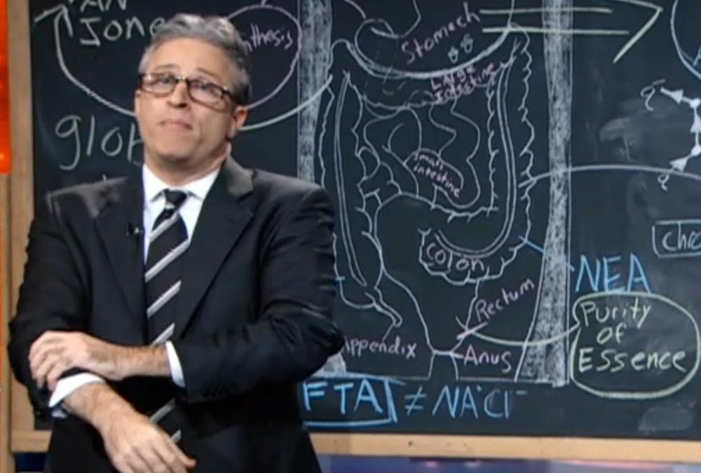 Keith Olbermann, Jon Stewart: Out-crazying Glenn Beck