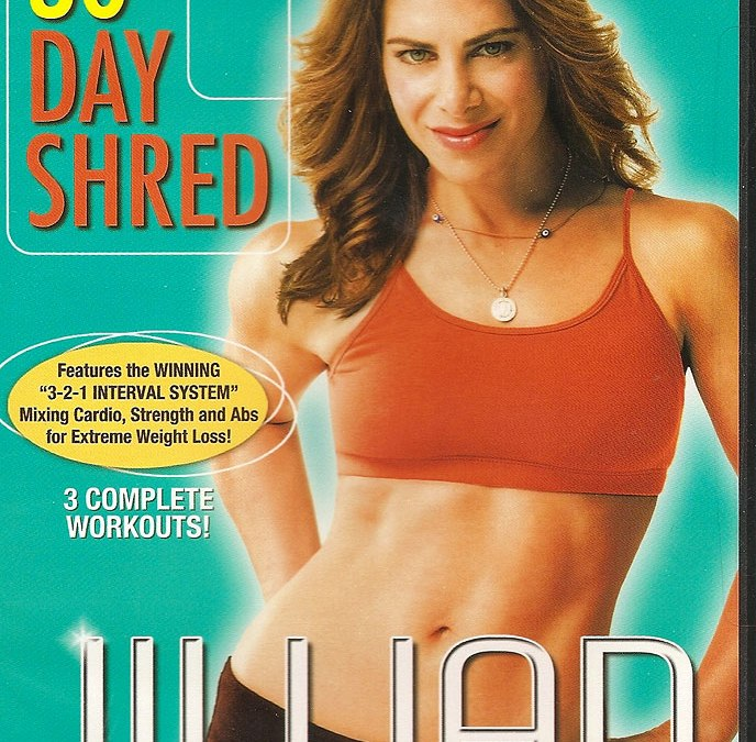 Jillian Michaels 30 Day Shred workout DVD